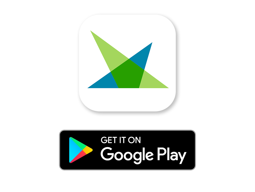 first entertainment logo and google play badge GET IT ON Google Play