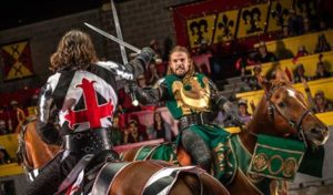 knights fight at medieval times